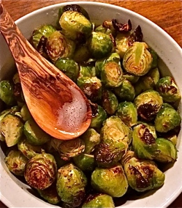 Delicious...even for those who don't care for Brussels sprouts ! REALLY!
