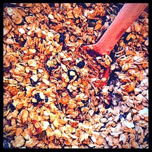 A delicious, low-fat Granola which you can tweek to your own likes!