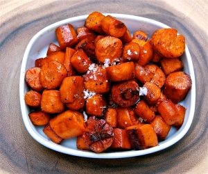 You will want to double this recipe. These shrink a bit while roasting!