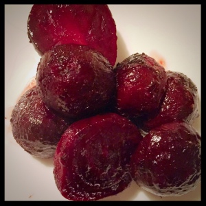 The glaze on these beets is so yummy!