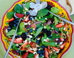 This delicious spring salad is a keeper!