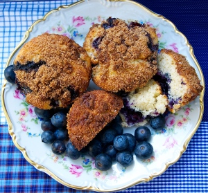 Toss your favorite berries into this muffin batter...delicious.