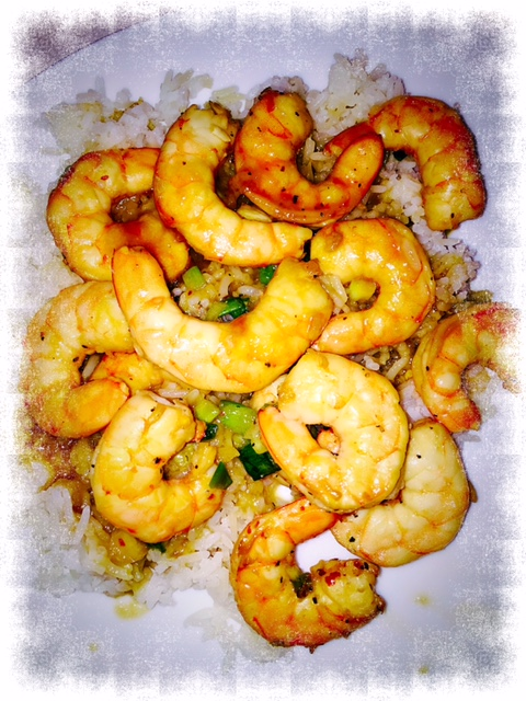 Spicy-Sweet Glazed Shrimp Recipe — Dishmaps