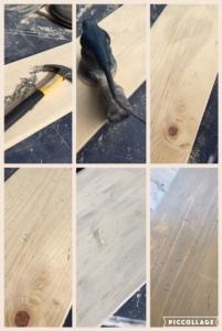 EASY Rustic Wooden Runner